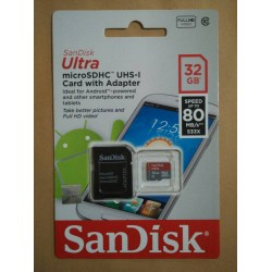 MICRO SD SANDISK ULTRA 32GB