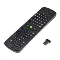Wireless combo Keyboard Air Mouse Remote Controller With Gyroscope