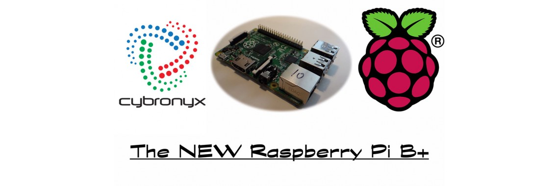 The new raspberry pi model B+