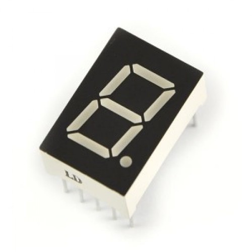 "LD-3161AS 1 Digit 0.36"" RED 7 SEGMENT LED DISPLAY COMMON CATHODE"