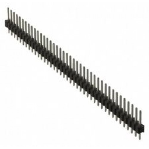 Pin header 1 x 40 2mm single row - male
