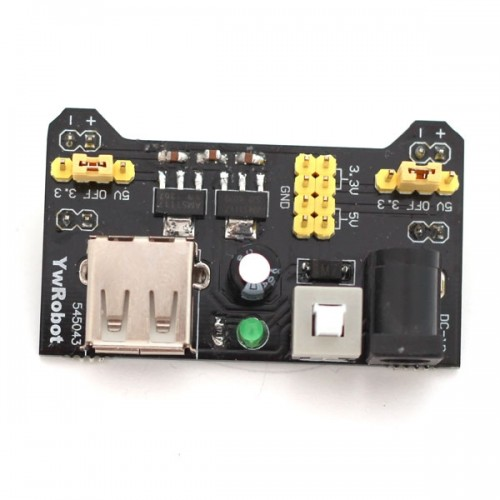 1pcs 3.3V/5V MB102 Breadboard Power Supply Module