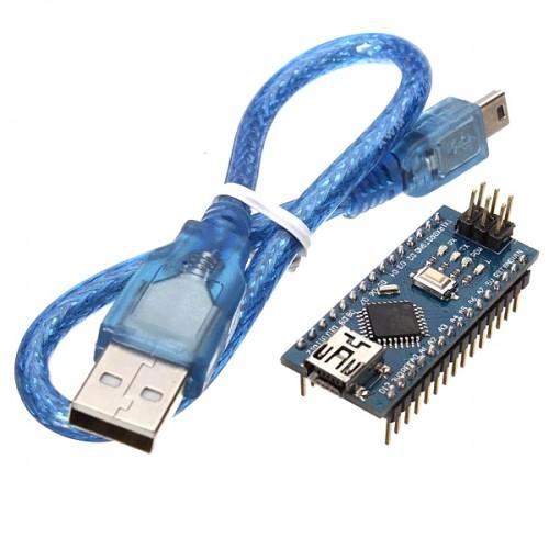 Arduino Nano V3.0 + USB cable (Clone)
