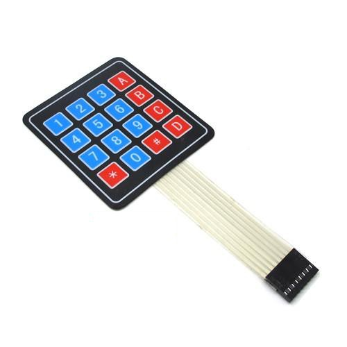 4*4 Matrix Array/Matrix Keyboard 16 Key Membrane Switch Keypad