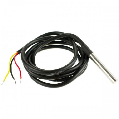 DS18b20 stainless steel 1 meters waterproof temperature sensor