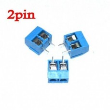 2 Pin Screw Terminal Block Connector 5mm Pitch 5.08-301-2P 301-2P