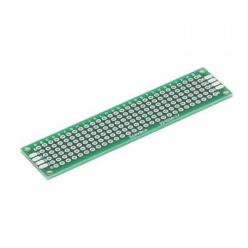 2x8 cm prototype pcb board double sided 2.54MM board