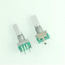 Original,Rotary encoder,code switch/EC11/ audio digital potentiometer,with switch,5Pin