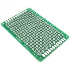 4x6 cm prototype pcb double side 2.54MM board