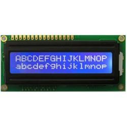 1602 LCD white on blue backlight