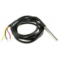 DS18b20 stainless steel 1 meters waterproof temperature sensor